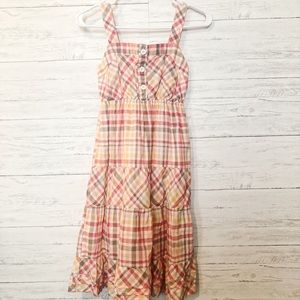 SO plaid dress , size small